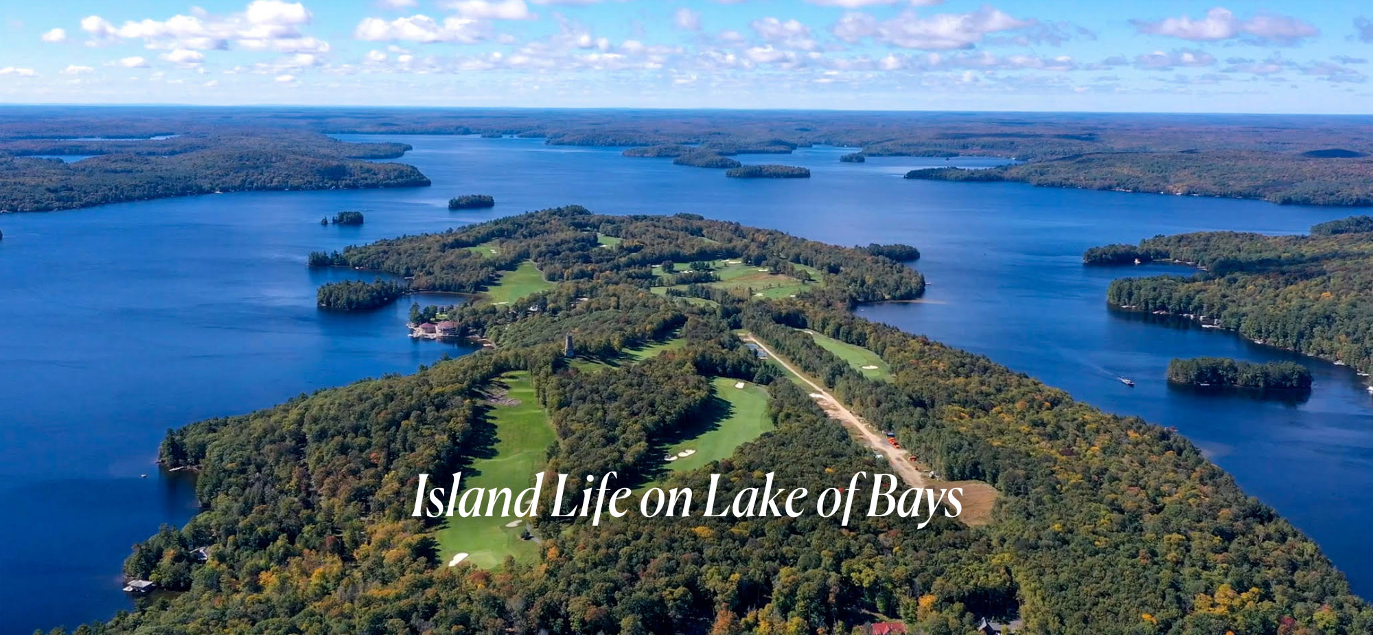 Island Life on Lake of Bays, Muskoka