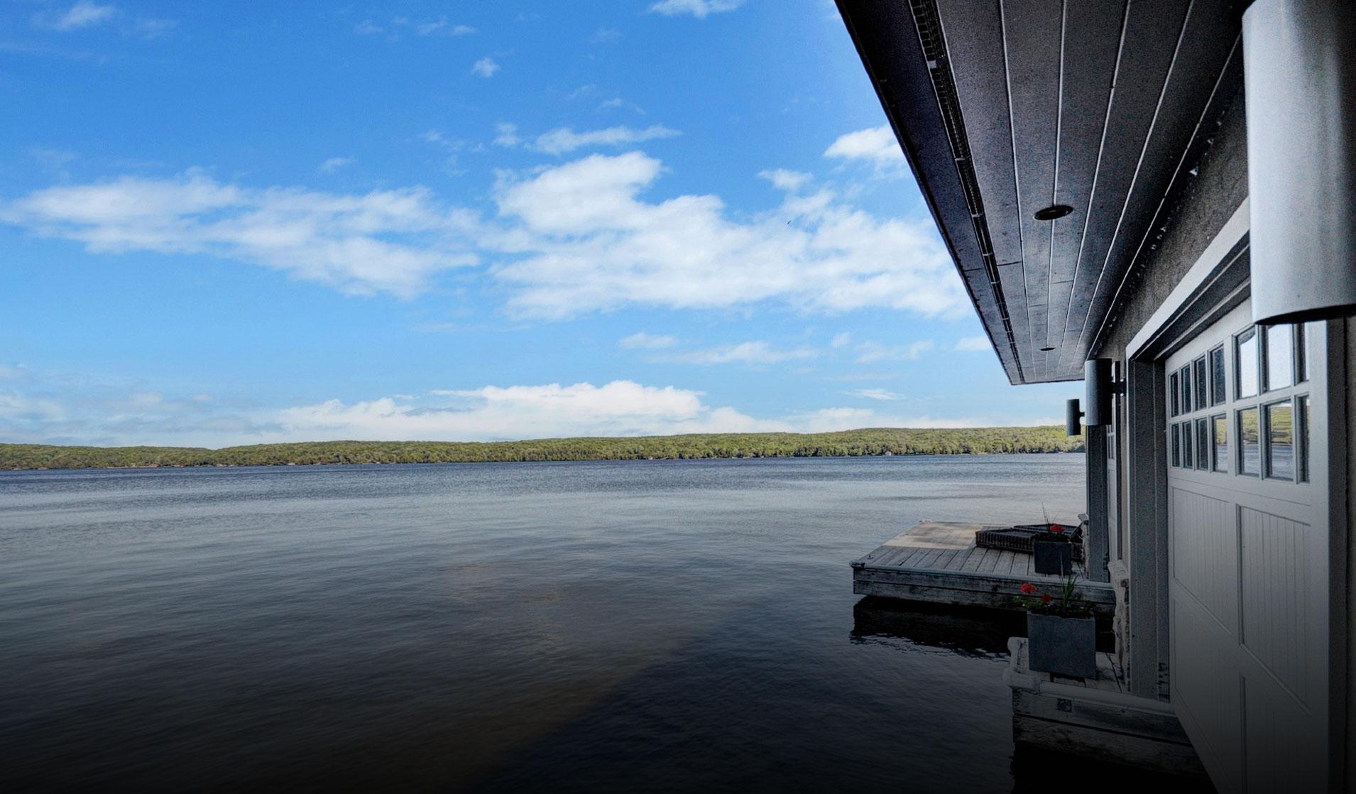 Homes on Lake of Bays